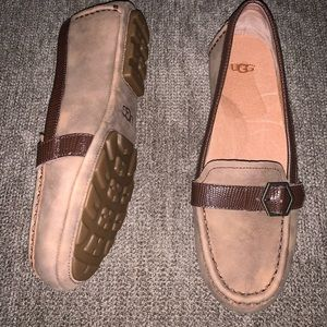Ugg brown loafers